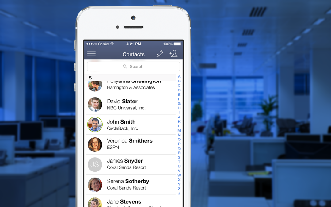 """CircleBack is finally solving the """"Contacts Management Problem"""""""