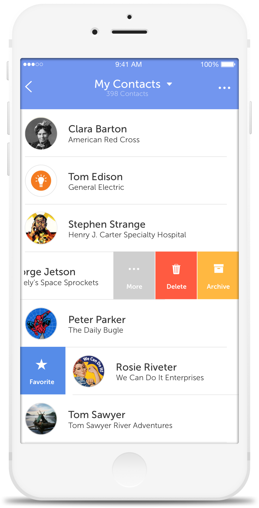 CircleBack - Address Book & Contact List, Merge, Edit, Delete, Groups
